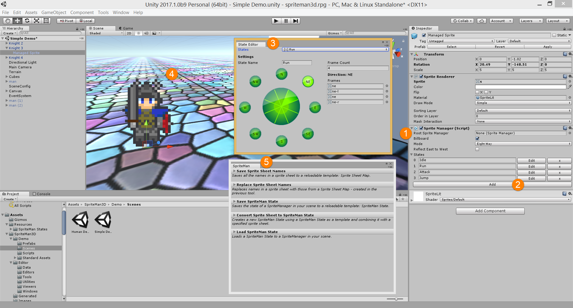 Welcome to the SpriteMan 3D User Guide!